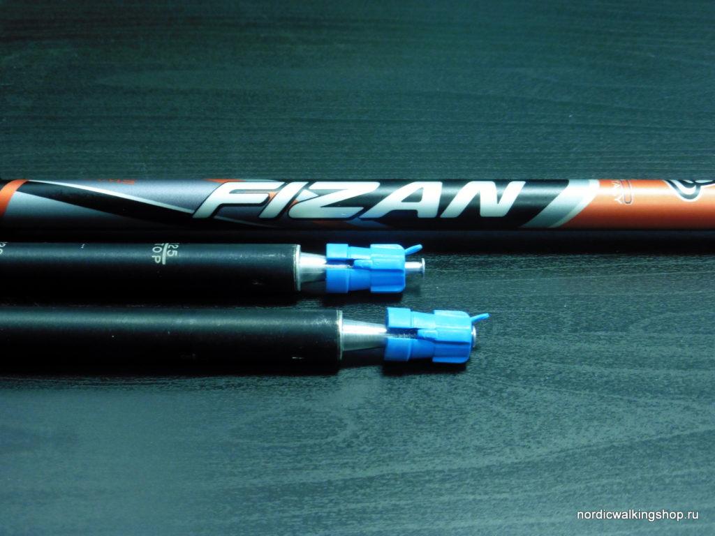 Итальянские палки для скандинавской ходьбы Fizan Speed NW - темляк M (6-10)
